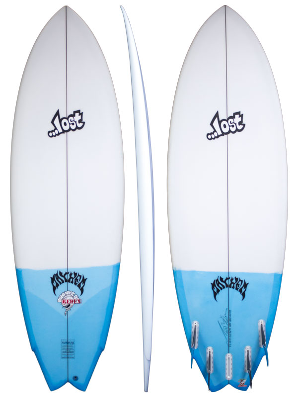 Round nose fish redux lost surfboards by mayhem for Best fish surfboard
