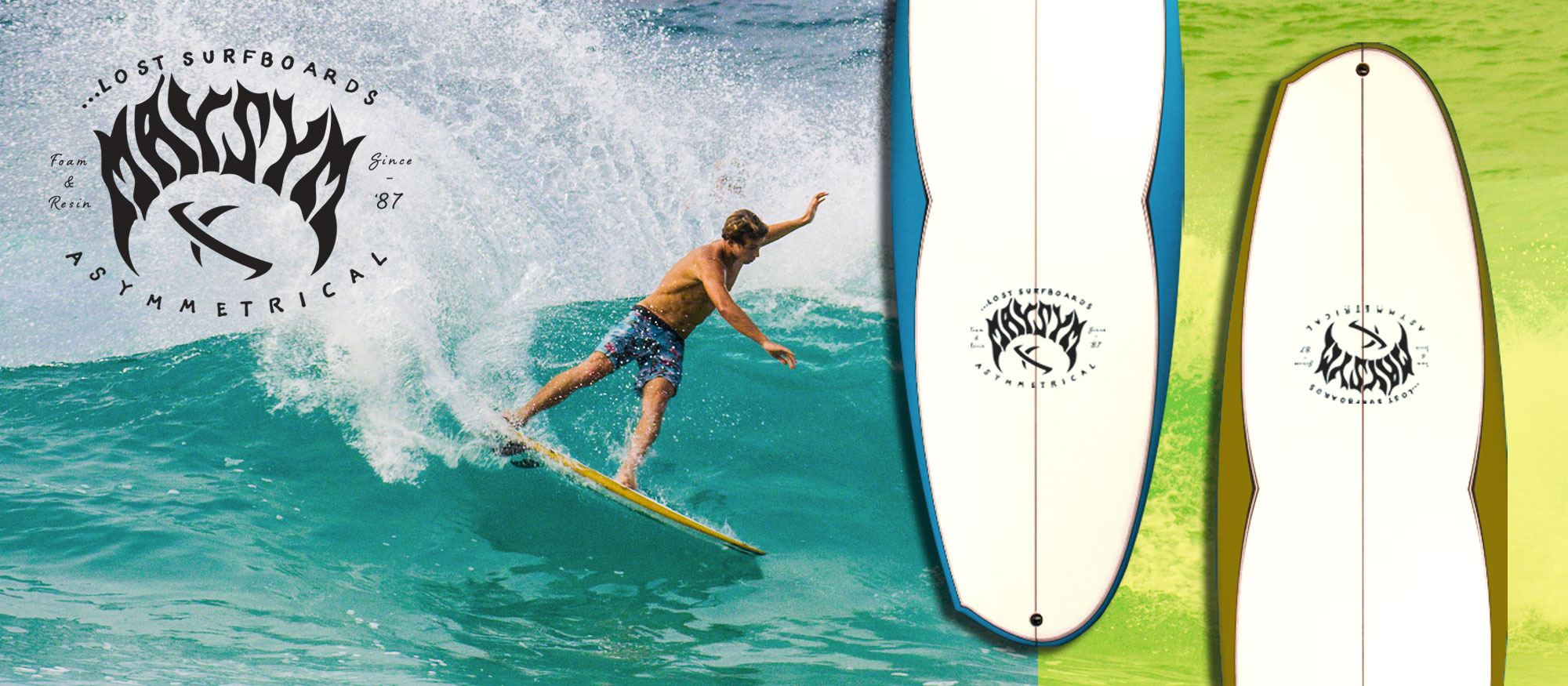 Lost Surfboards by Mayhem | Handmade in San Clemente, CA